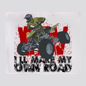ATV My Own Road Throw Blanket
