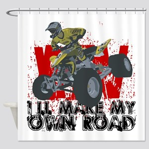 ATV My Own Road Shower Curtain