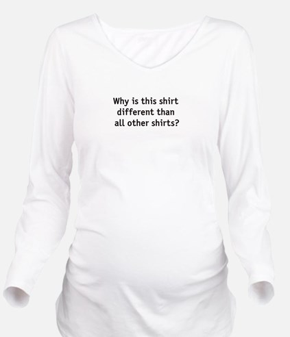 passover Long Sleeve Maternity T-Shirt