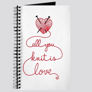 All you knit is love Journal
