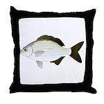 Bermuda Chub Throw Pillow