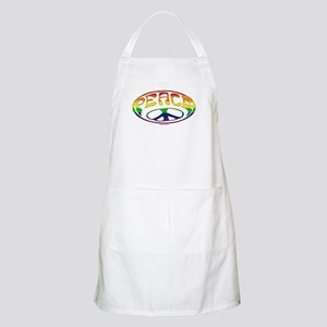 Gay Peace symbol BBQ Apron