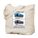 Access not Handicap Tote Bag