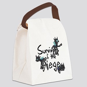Survivors of the Siege (Logo) Canvas Lunch Bag