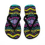 Tribal Dominance Flip Flops