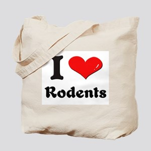 I love rodents Tote Bag