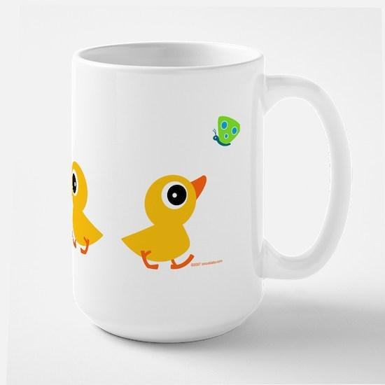 ducklings_row Mugs
