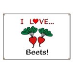 I Love Beets Banner