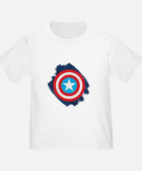 Captain America Distressed Shield T