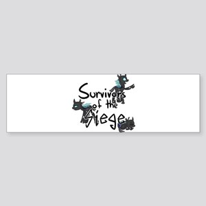 Survivors of the Siege (logo) Bumper Sticker
