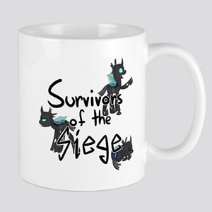 Survivors of the Siege (logo) Mugs