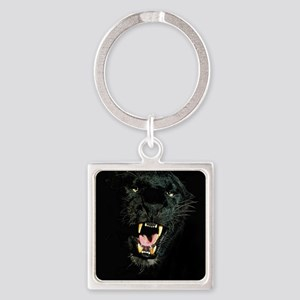 Black Panther Face Keychains