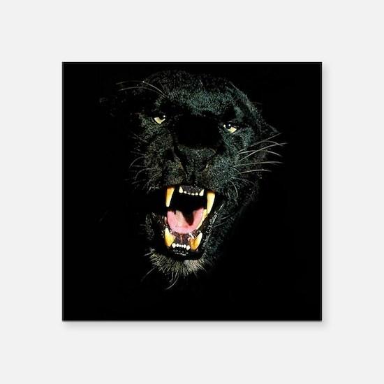 Black Panther Face Sticker