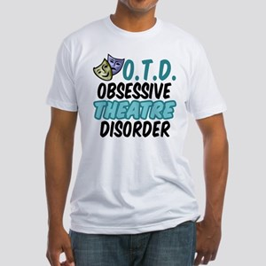Funny Theatre Fitted T-Shirt