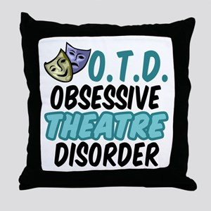 Funny Theatre Throw Pillow