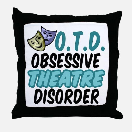 Funny Theatre Throw Pillow