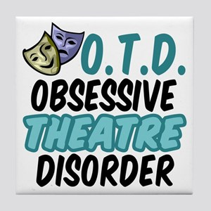 Funny Theatre Tile Coaster