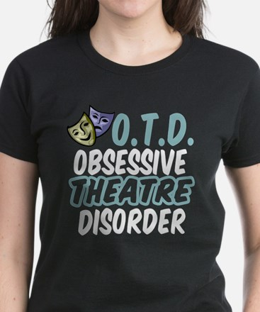 Funny Theatre Women's Dark T-Shirt