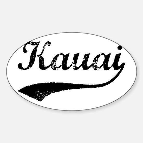 Unique Kauai Sticker (Oval)