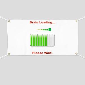 Brain Loading Red Banner