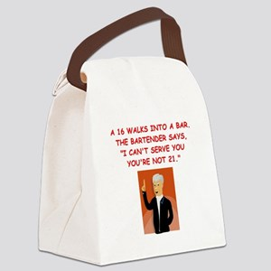 34 Canvas Lunch Bag