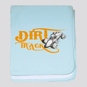 Dirt Track Sprint Car baby blanket