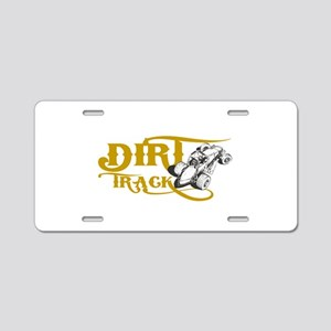 Dirt Track Sprint Car Aluminum License Plate