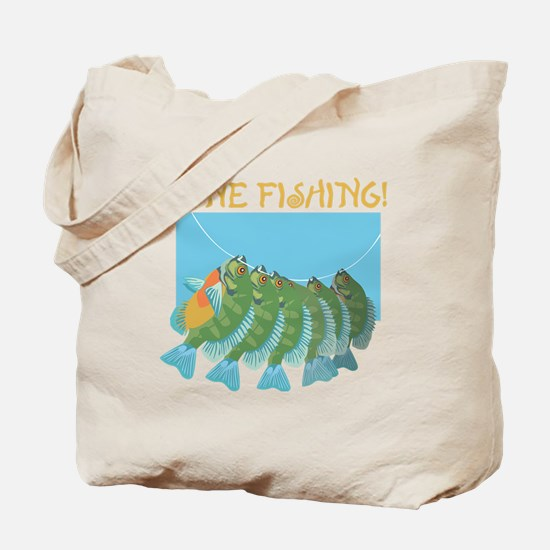 Gone Fishing! Tote Bag