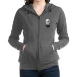 TGIF Jason Hockey Mask Women's Zip Hoodie