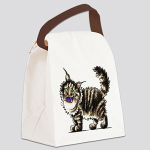 Maine Coon Giant Canvas Lunch Bag