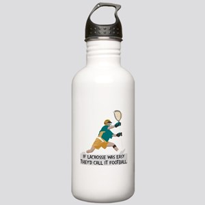 If Lacrosse Was Easy Stainless Water Bottle 1.0L