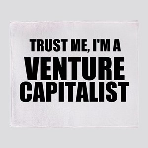 Trust Me, Im A Venture Capitalist Throw Blanket