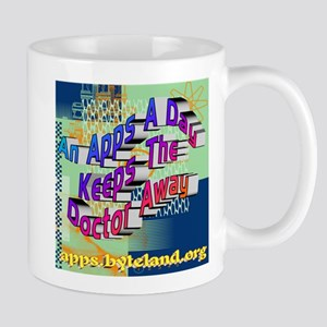 An Apps A Day Keeps The Doctor Away Mug
