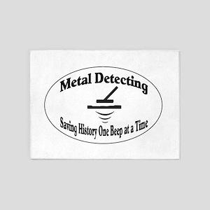 Metal Detecting 5'x7'Area Rug