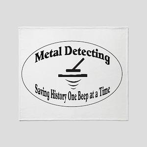 Metal Detecting Throw Blanket