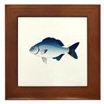 Blue Sea Chub Framed Tile