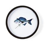 Blue Sea Chub Wall Clock