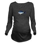 Blue Sea Chub c Long Sleeve Maternity T-Shirt