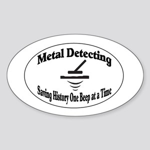 Metal Detecting Sticker
