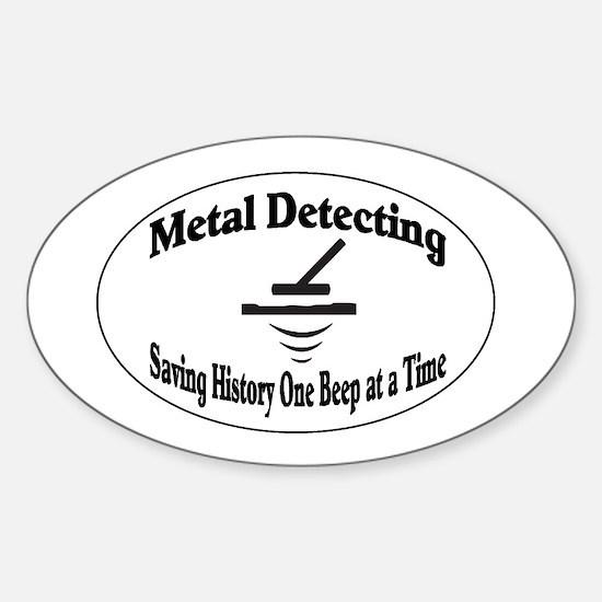 Metal Detecting Decal