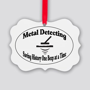 Metal Detecting Ornament