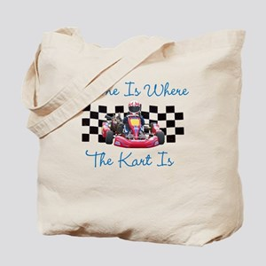 Home is Where the Kart Is Tote Bag