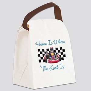 Home is Where the Kart Is Canvas Lunch Bag