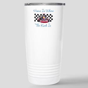 Home is Where the Kart Is Travel Mug
