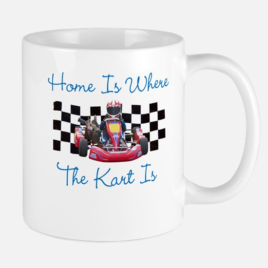 Home is Where the Kart Is Mugs