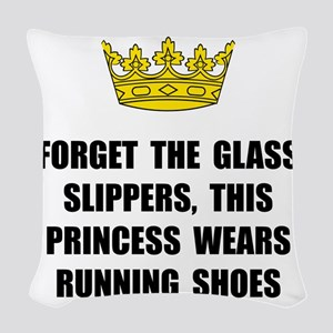 Princess Run Woven Throw Pillow
