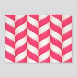Candy Stripes 5'x7'Area Rug