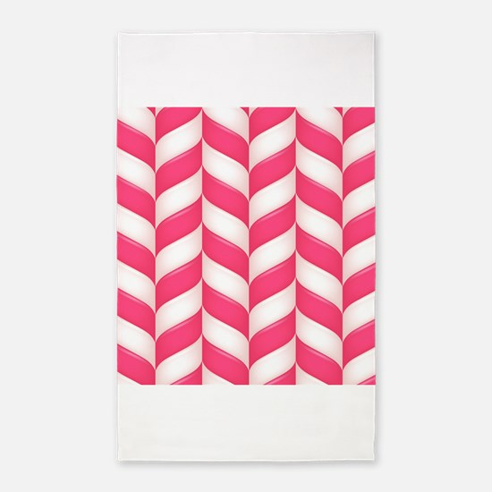 Candy Stripes 3'x5' Area Rug
