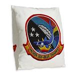 VP-6 Burlap Throw Pillow