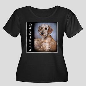 Dachshund Puppies Women's Plus Size Scoop Neck Dar